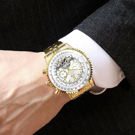 Reloj Para Hombre Todas Sus Manecillas Funcionales