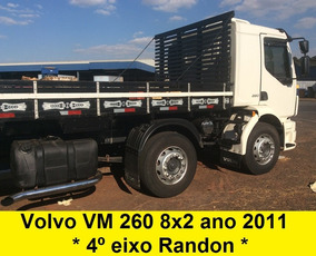 Volvo Vm 260 4* Eixo 8x2 Bitruck + Carroceria 270 24250 2428