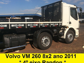 Volvo Vm 260 4* Eixo 8x2 Bitruck + Carroceria 2422 2423 2426