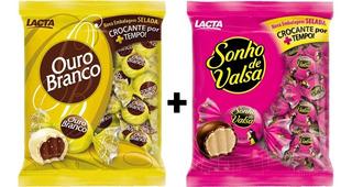 Kit 2 Pacotes Sonho De Valsa E Ouro Branco 1kg A Sua Escolha