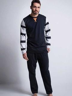 Dia Del Padre - Pijama Con Franjas Escote Redondo - G3 1036