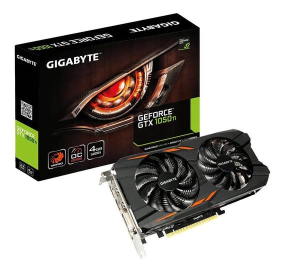 Placa De Vídeo Gigabyte Gtx 1050ti 4gb Ddr5 128 Bits