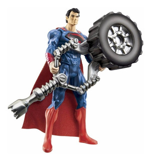 Superman Man Of Steel 10 Cm Orig Mattel Con Accesorio !!!