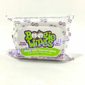 Lenços Umidecidos Salinizados Boogie Wipes Com 30 Unidades