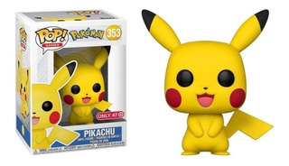 Funko Pop Pokemon Pikachu Exclusive 353 Coleccionable Nuevo