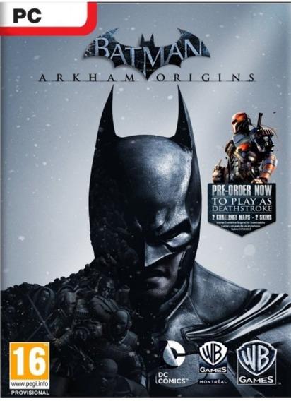 Game Batman Arkham Origins Para Pc
