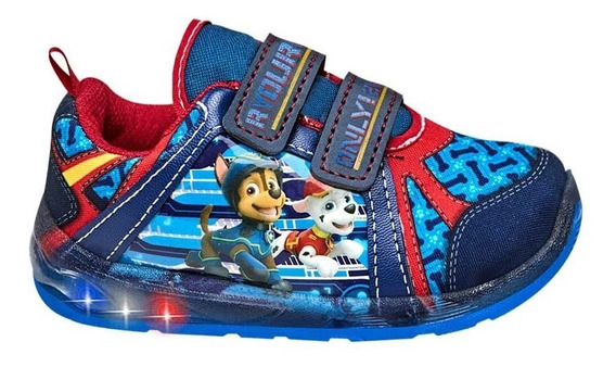 Tenis Niño Con Luces Paw Patrol 182738 Ps Fall19