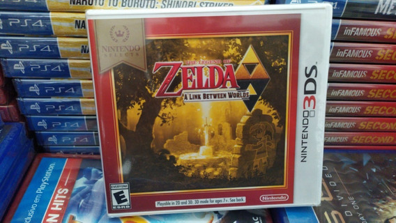 The Legend Of Zelda A Link Between Worlds Novo Mídia Física