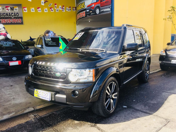 Land Rover Discovery 4 Black & White Blindada - Diesel