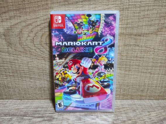 Mario Kart 8 Deluxe Nintendo Switch - Lacrado
