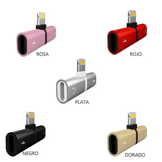 Oferta Adaptador iPhone Capsula T Carga Y Conecta Audifos