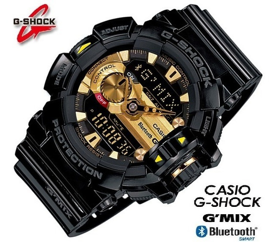 Relógio Casio G-shock Gba-400-1a9 G Mix Bluetooth