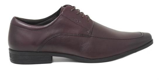 Sapato Ferracini Couro Bordo - Lojas Pires