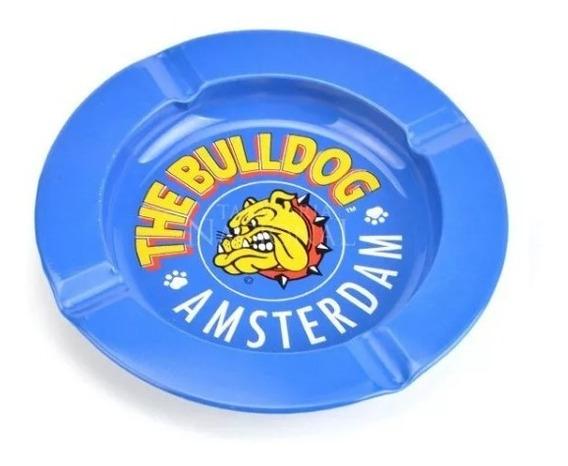 Cinzeiro De Metal The Bulldog Amsterdam Original Cores