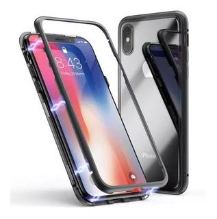 Capa Capinha 180° Magnética iPhone 7 Plus 8 Plus + Película
