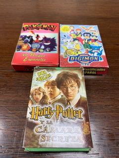 Juegos De Cartas Harry Potter, Pokemon Y Digimon