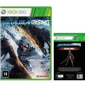 Metal Gear Rising Steelbook + Dlc Inferno Armor - Xbox 360