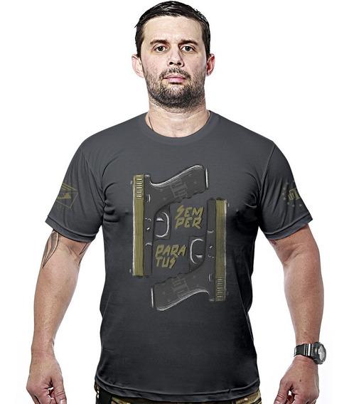 Camisa Militar Concept Line Team Six Semper Paratus