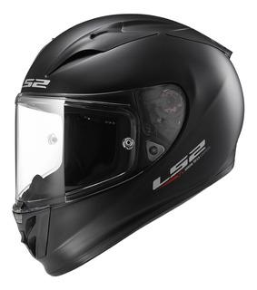 Casco Moto Gp Pista Ls2 323 Arrow Negro Mate Pinlock