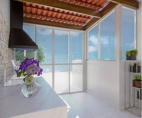 Cobertura Com 2 Dormitórios À Venda, 88 M² Por R$ 390.000,00 - Campestre - Santo André/sp - Co5256
