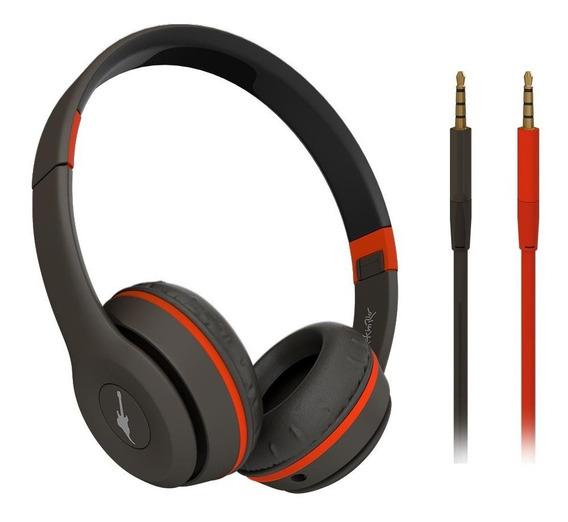 Headphone Aquarius Rock Street Rock In Rio Preto/laranja