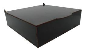 Caixa Mdf Preto 40x40x5 Cm Lembrancinha Kit 10 Peças