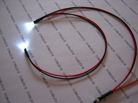 Kit 2 Mini Led Flat Luz Mini Artesanato Nicho Casinha De Boneca Luminária Decoração Pronto Para Usar E Fácil Instalar