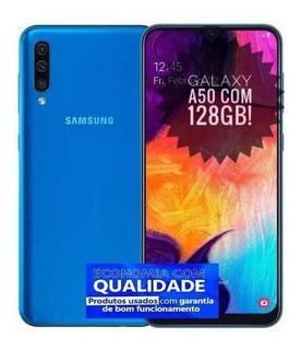 Smartphone Samsung Galaxy A50 128gb Dual Chip - Azul