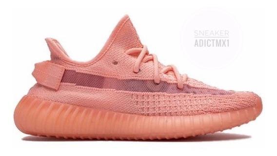 Tenis adidas Yeezy Boost 350 V2 Pink Glow En Caja Envio