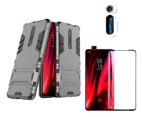 Estuche Xiaomi Mi 9t + Vidrio Templado 6d