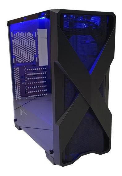 Cpu Gamer Asus/ Core I5/ 8gb/ 1tb/ Hdmi/ Wi-fi/ Led Gabinete