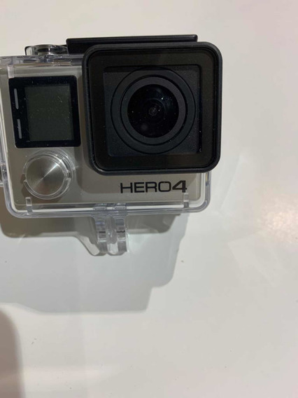 Filmadora Go Pro Hero 4/ Controle E Acessórios A Prova Dagua