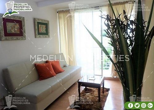 Apartamentos Amoblados Medellin Mensual  Cód: 4537