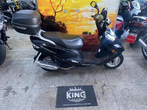 Suzuki Burgman 125i 2017 Preta - King Motos