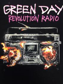 Green Day - Camisa Revolution Radio Produto Oficial