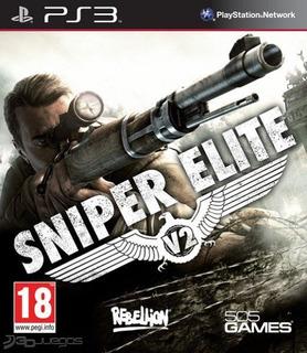 Sniper Elite V2 Ps3