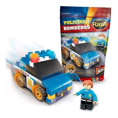 Rasti Doy Pack Policía 43 Piezas 01-1083