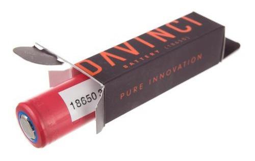 Bateria Davinci Iq 18650 3500mah Nova E Original