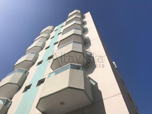 Apartamento Com 2 Dormitórios À Venda, 63 M² Por R$ 379.000,00 - Vila Homero Thon - Santo André/sp - Ap2207