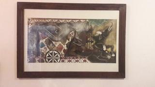Cuadros Pintor Oaxaqueño Enrique Flores
