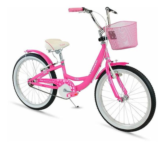Bicicleta Turbo Princess Para Niña R20 Comodidad Y Seguridad