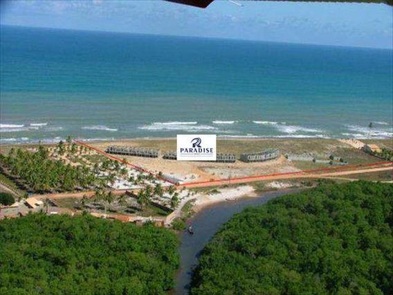 Terreno Frente Mar, Porto De Sauipe -r$ 3.000.000,00- 50.000 M² - V22300