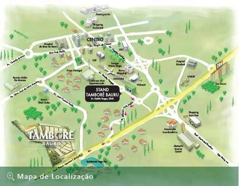 Tamboré, Próximo A Portaria. - Te0157