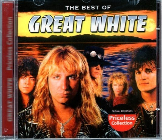 Cd Great White - The Best Of Great White Cr. Regist 10
