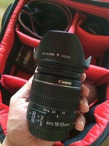 Lente Canon Ef-s 18-55mm F / 3.5-5.6 Is Ii