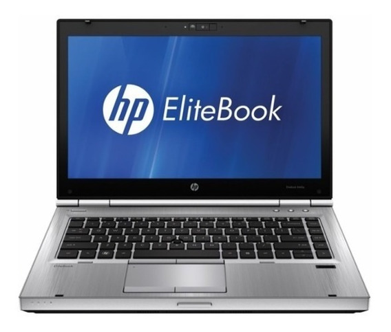 Notebook Hp Elitebook I5 4gb 500gb Win7 Hdmi Bat Nova