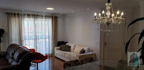 3 Dormitórios - 126 M² - R$ 1.200.000 - Tatuapé - Ap0034