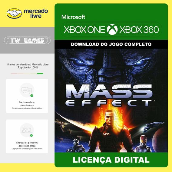 Mass Effect 1 Digital Retrocompativel Xbox One Xbox 360