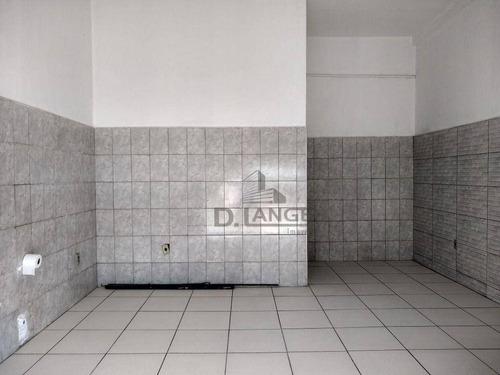 Imagem 1 de 8 de Salão Para Alugar, 20 M² Por R$ 1.200,00/mês - Jardim Aurélia - Campinas/sp - Sl0887