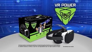 Óculos De Realidade Virtual Vr Power 360°